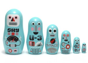 ■OMMDESIGNPOCKETMATRYOSHKAROBOT(OMMデザインポケットマトリョーシカロボット)【楽ギフ_包装】【あす楽対応】【HLS_DU】