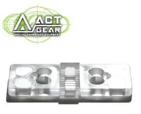 ACT GEAR アクトギア ビンディング 5mmリフトアッププレート ポリカ [PL-10] CLEAR ALPAIN アルペン アルパイン BINDING バインディング SNOWBOARDS スノーボード 【あす楽対応】