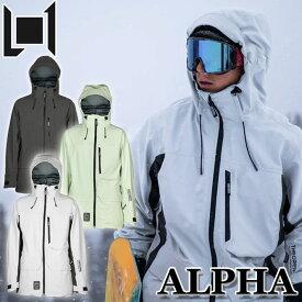 20-21 L1 エルワン ウェア ALPHA JACKET アルファ ジャケット メンズ スノーボード【あす楽対応】