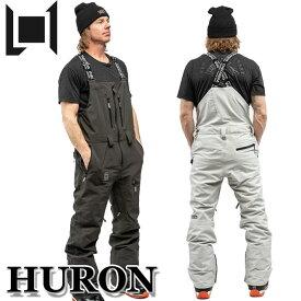 20-21 L1 エルワン ウェア HURON PANT フロン パンツ ビブパンツ メンズ スノーボード【あす楽対応】