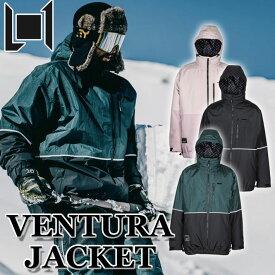 20-21 L1 エルワン ウェア VENTURA JACKET ベンチャー ジャケット メンズ スノーボード【あす楽対応】