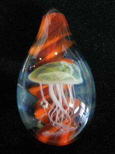 【送料無料】GLASS PENDANT TOP ペンダントトップ 【S】ガラス玉 ネックレス・アクセサリー・パーツ