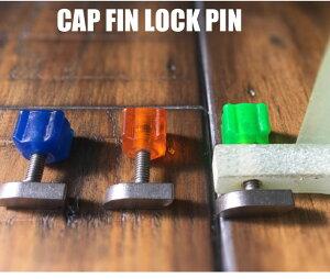 CAP キャップ FIN LOCK PIN フィンロックピン ロングボードフィン固定ボルト BOX ボルト スクリュー ネジ シングルボックス 【あす楽対応】