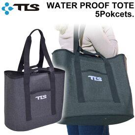 TOOLS ツールス WATER PROOF TOTE 5Pockets ウエット トート バッグ 5ポケット 防水 ビーチバック ウェットバック マリンスポーツ サーフィン アウトドア フェス フィッシング 旅行 トラベル【あす楽対応】