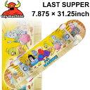 TOY MACHINE トイマシーン スケートボード コンプリート LAST SUPPER (7.875 × 31.25) [TM-106] 完成品 スケボー SKA…