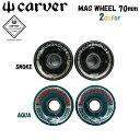 carver【カーバー】サーフスケート ウィール MUG WHEEL【マグウィール】70mm 2個1SET スケートボード【正規品・純正パ…