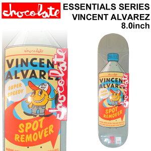 CHOCOLATE スケートボード デッキ チョコレート ESSENTIALS SERIES VINCENT ALVAREZ ヴィンセント・アルバレス [CH-14] スケボー パーツ SKATE BOARD DECK【あす楽対応】