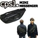 [現品限りfollows特別価格] cpsl カプセル MINI MESSENGER ミニメッセンジャー BLACK ショルダーバッグ メッセンジャ…