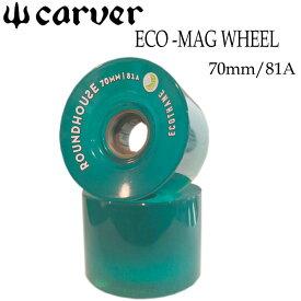 carver カーバー サーフスケート ウィール ECO-MAG WHEEL 70mm [エコ ウィール] 2個1SET スケートボード【あす楽対応】