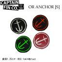 CAPTAIN FIN キャプテンフィン ステッカー ORIGINAL ANCHOR [S] アンカー スモールセット 【あす楽対応】
