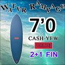 [8月上旬入荷] 【7日間限定P10倍】 [送料無料] WATER RAMPAGE ウォーターランページ サーフボード CASH-YEW 7'0 ファンボード ...