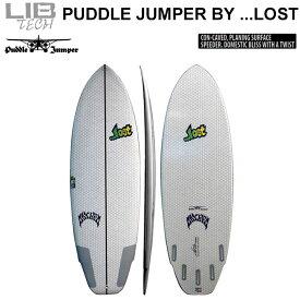 【ラスト1本限り】 Lib Tech リブテック PUDDLE JUMPER パドルジャンパー LOST ロスト サーフボード ショートボード MATHEM メイヘム Mat Biolos [条件付き送料無料]