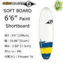 """【送料無料】 BIC SURF ビック サーフボード 6'6"""" PAINT Shortboard ショートボード ソフトボード"""
