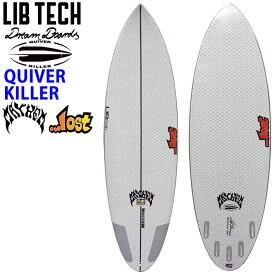 Lib Tech リブテック QUIVER KILLER クイーバーキラー ハイパフォーマンス LOST ロスト サーフボード ショートボード MATHEM メイヘム Mat Biolos [条件付き送料無料]