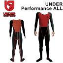 [follow's限定特別価格] UNDER Performance ALL アンダーパフォーマンスオール 即暖 ウェットスーツ 防寒 インナー サ…
