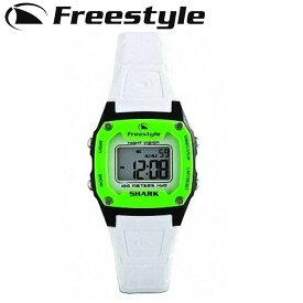 FreeStyle フリースタイル 腕時計 [80980] SHARK CLASSIC MID [WHTIE×GREEN] シャーク クラシック ミッド ユニセックス デジタル時計【あす楽対応】