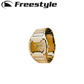 FreeStyle フリースタイル 腕時計 [FS101060:GOLD] FULL METAL KILLER SHARK フルメタルキラーシャーク デジタル時計【あす楽対応】