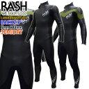 2020-2021年 RASH ラッシュ ウェットスーツ セミドライ フルスーツ 5x3mm メンズ ウエットスーツ 数量限定モデル LX H…