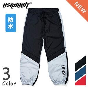 BSRABBIT BSRBT JOGGER PANTS男女共用 ビーエスラビット ジョガー パンツ スノーボード ウェア 防水 通気性 3色