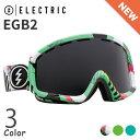 14/15 Electric goggles EGB2 エレクトリック スノー ゴーグル アジアンフィット クリア系スペアレンズ付き 送料無料
