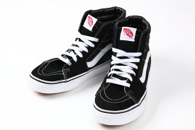 【送料無料】Vans shoes ヴァンズ シューズ ※SK8-Hi スケートハイ※カラー:ブラックVansシンボルのサイドストライプのハイカットモデル※