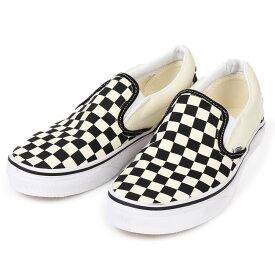 【送料無料】Vans shoes ヴァンズ シューズ ※ Classic Slip-on ※カラー:チェッカーボードVans クラシック スリッポン Checkerboard/WhtVans スリッポン チェッカーボード※