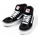 【送料無料】Vans shoes ヴァンズ シューズ ※SK8-Hi スケートハイ※カラー:ブラックVansシンボルのサイドストライプ…