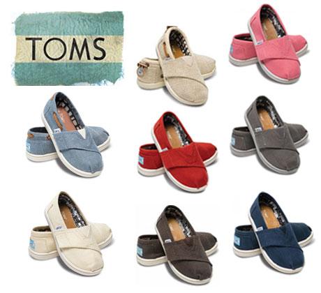 あす楽対応 送料無料 Toms シューズ キッズモデル (Toms シューズ) キッズ キャンバス クラッシック 【スリッポン】※ Toms shoes Kids (Tiny) Canvas※全8色 【RCP】【楽ギフ_包装】