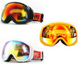 あす楽対応 送料無料 MISTYEYED DB1 ゴーグル (goggles) ミラーレンズ フレーム カラー:全3色ブラック ホワイト オレンジ 【RCP】02P01Mar15