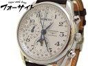 美品 ロンジン■マスターコレクション ムーンフェイズ クロノ L2.673.4.78.3 メンズ 革ベルト 時計∞LONGINES 29C