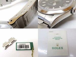 3番ROLEXロレックス■16234X番デイトジャスト国際サービス保証書付属品□30A