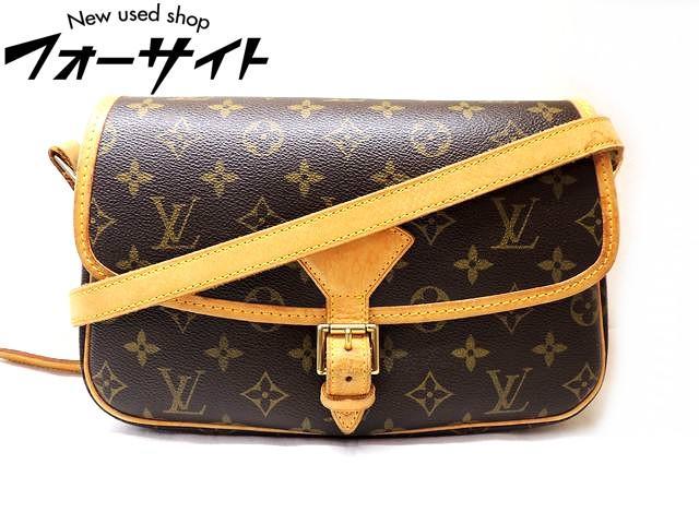 Louis Vuitton ヴィトン■M42250 ソローニュ モノグラム 斜め掛け ショルダーバッグ□30C