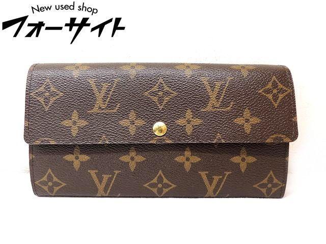 Louis Vuitton ヴィトン■M61734 ポルトフォイユ・サラ モノグラム 2つ折り 財布□30D