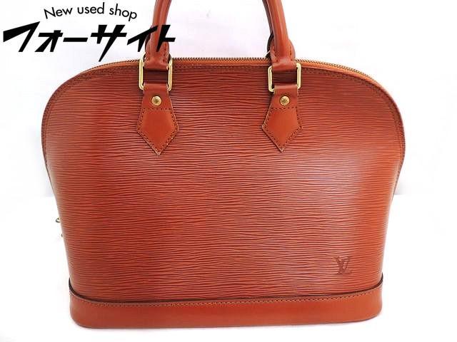 Louis Vuitton ヴィトン■M52143 アルマ エピ ケニアブラウン ハンドバッグ パドロック付き□30E