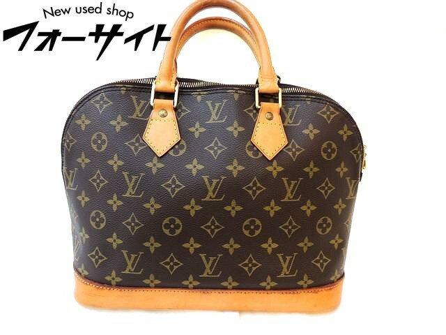 Louis Vuitton ヴィトン■M51130 アルマ モノグラム ハンドバッグ ※パドロック付き□30I