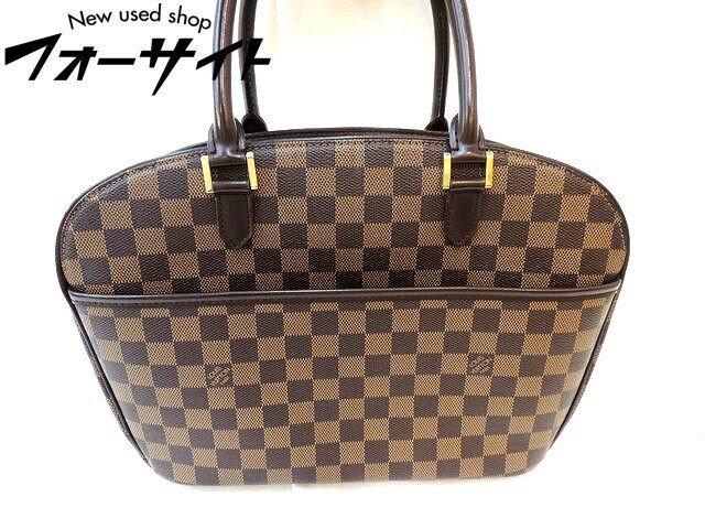 Louis Vuitton ヴィトン■N51282 サリア・オリゾンタル ダミエ ハンドバッグ□30J