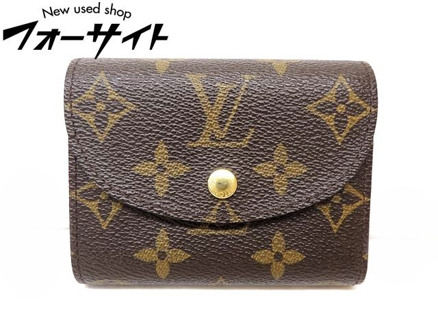 美品 Louis Vuitton ヴィトン■M60253 エレーヌ モノグラム 3つ折り コンパクト 財布□30G