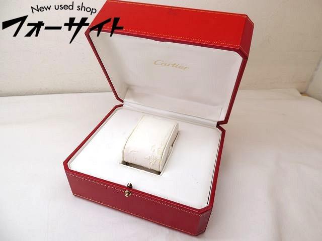 2: 難有り Cartier カルティエ■レッド 純正 時計 ボックス 空箱□30G