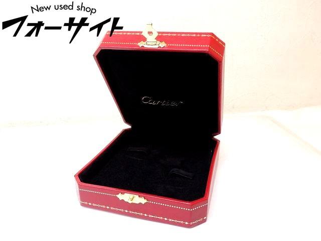 美品 Cartier カルティエ■レッド 純正 カフス ケース ボックス 空箱□30G