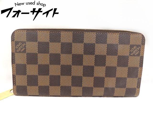美品 Louis Vuitton ヴィトン■N60015 ジッピーウォレット ダミエ ラウンドファスナー 財布□30H