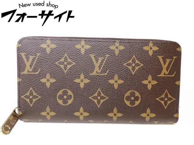 Louis Vuitton ヴィトン■M42616 GI0198 ジッピーウォレット モノグラム ラウンドファスナー 財布□30H