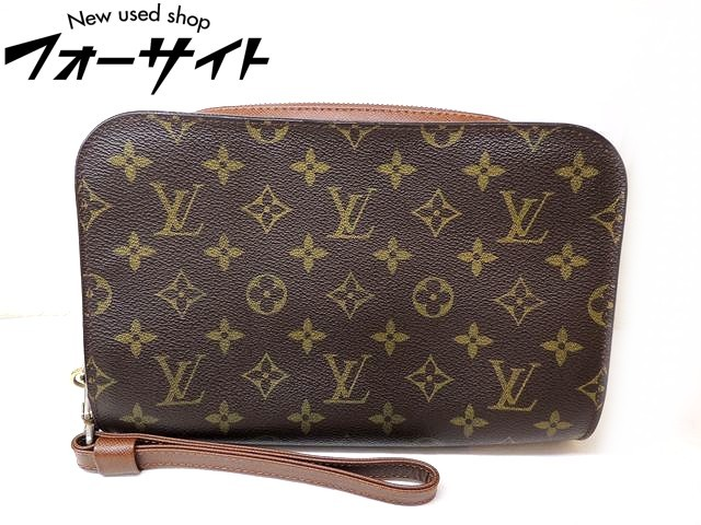 Louis Vuitton ヴィトン■M51790 オルセー モノグラム セカンドバッグ クラッチバッグ□30H
