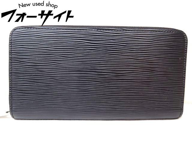 美品 Louis Vuitton ヴィトン■M60072 ジッピーウォレット エピ ノワール ラウンドファスナー 財布□30H
