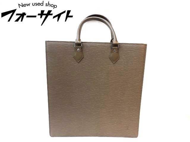 美品 Louis Vuitton ヴィトン■M5207B RI1020 エピ サックプラ ペッパー□レディース ハンドバッグ 30H