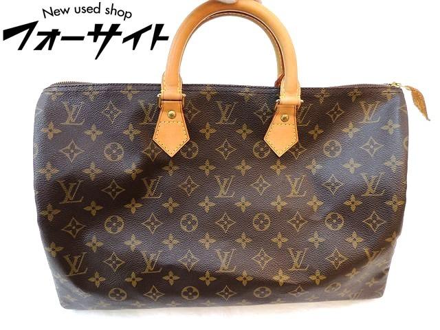 美品 Louis Vuitton ヴィトン■M41522 スピーディ 40 モノグラム ハンドバッグ ボストンバッグ□31B