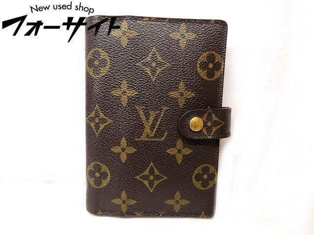 Louis Vuitton ヴィトン■R20005 アジェンダ PM モノグラム 手帳カバー スケジュール帳□31C
