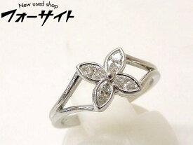 9号 新品同様 Tiffany ティファニー■プラチナ Pt950 ヴィクトリア ダイヤ リング 指輪□1G