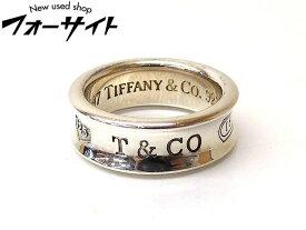 10号 Tiffany ティファニー■シルバー SV 925 1997 ナローリング 指輪□2A