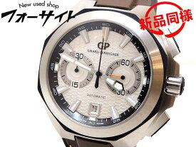定価144万 美品 ジラールペルゴ クロノホーク ■ 49970-11-131-HDBA メンズ 時計 オートマ □GIRARD PERREGAUX 2I