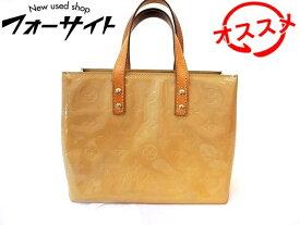 ヴィトン ハンドバッグ ■ M91144 リード PM ヴェルニ ベージュ バッグ Louis Vuitton □2K